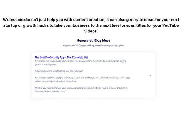 Writesonic Starter Plan: Lifetime Subscription