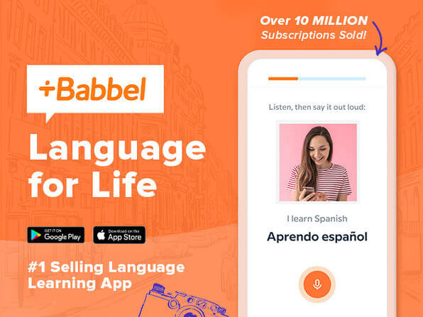 Babbel Language Learning: Lifetime Subscription (All Languages)